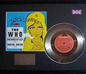 Who, The: Framed Discs - Silver Single - Pictures Of Lily