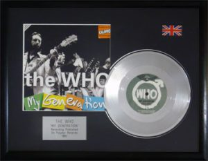 Who, The: Framed Discs - Silver Single - My Generation