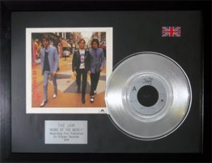 Jam, The: Framed Discs - Silver Single - News of the World