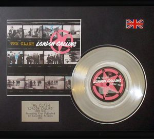 Clash, The: Framed Discs - Silver Single - London Calling