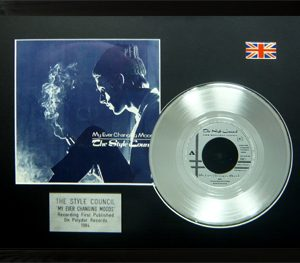 Style Council, The - Framed Discs - Silver Single - My Ever Changing Moods