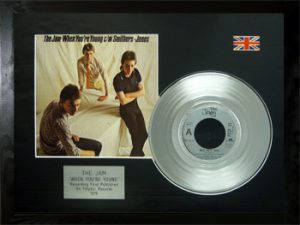 Jam, The: Framed Discs - Silver Single - When You're Young