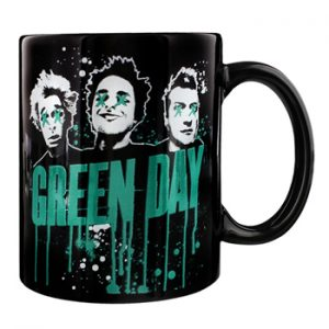 Green Day: Mug - Drips