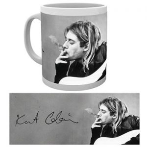 Kurt Cobain: Mug - Smoking