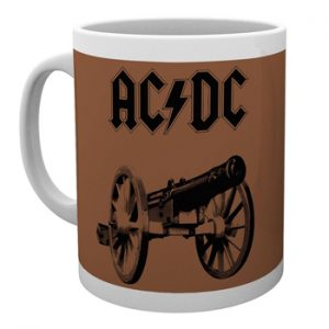 AC/DC: Mug - For Those About to Rock: Brown