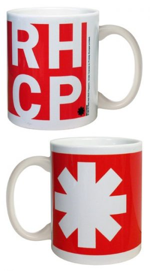 Red Hot Chili Peppers: Mug - Asterisk Red